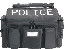 Auxiliary police equipment bag