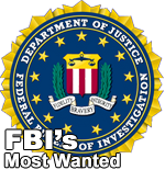 FBIs most wanted website