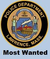 Lawrence Police Department Most Wanted seal