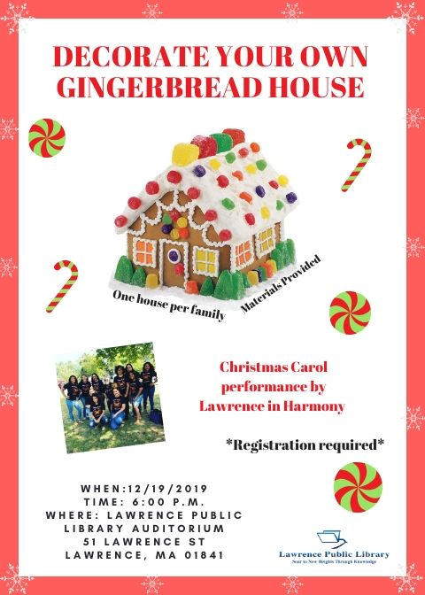 Decoration your own Gingerbread house