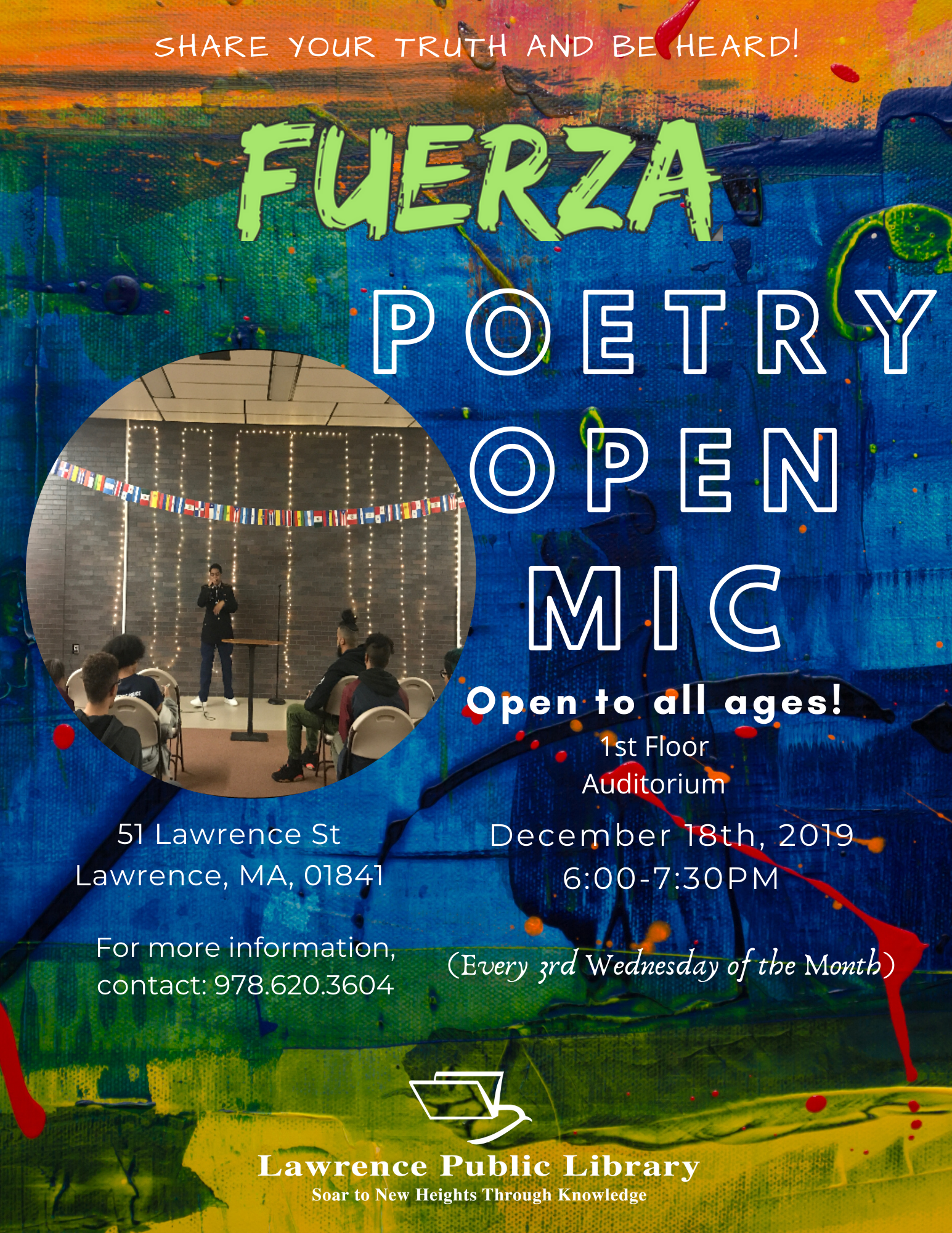 Fuerza Open Mic