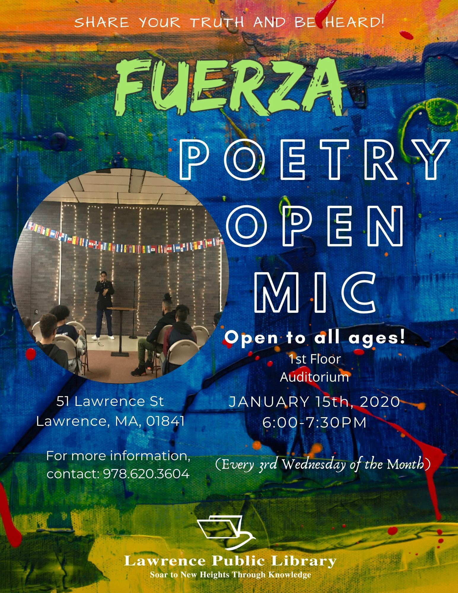 Copy of Fuerza Open Mic