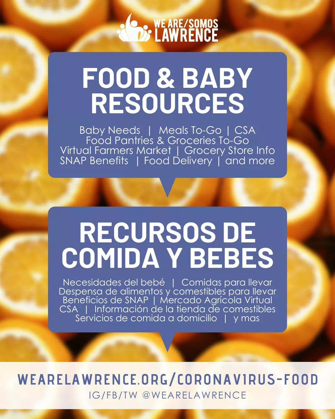 Food and Baby resources