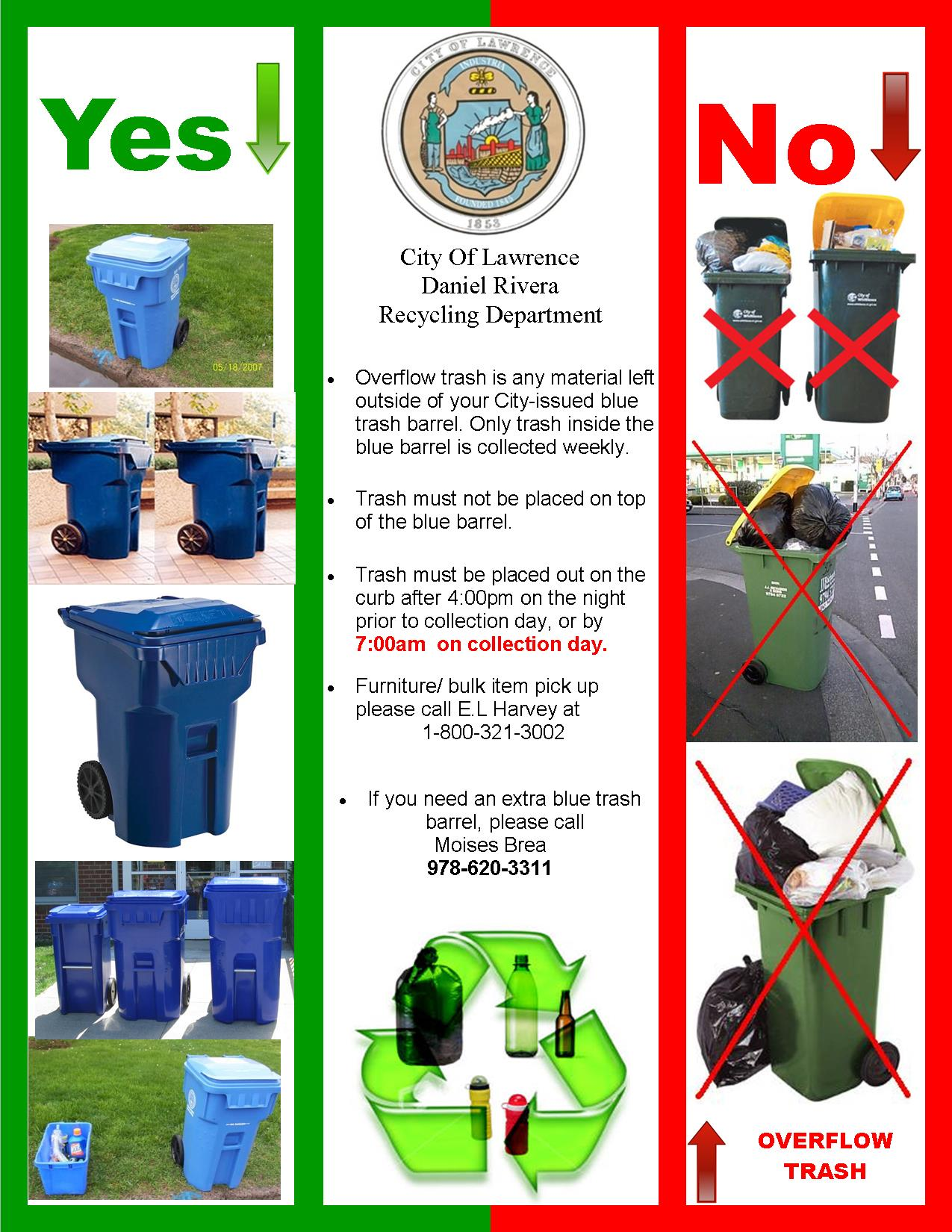 Curbside Trash Recycling Compliance