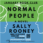 Photo of January Book Club Flyer: