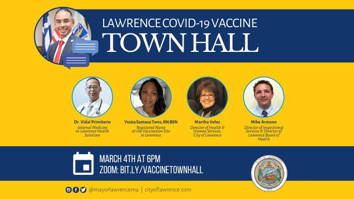Lawrence COVID-19 Vaccine Town Hall