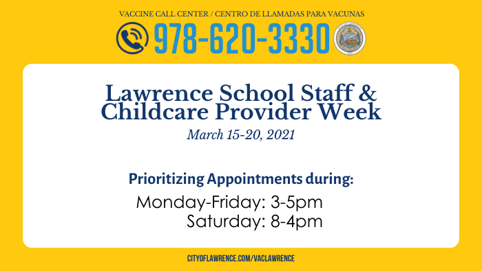 School Staff & Childcare Provider Week